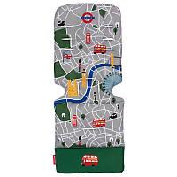 Матрас универсальный д/коляски, London City Map