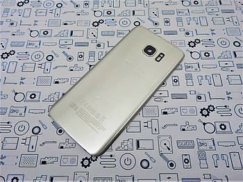 БУ.Orig Samsung S7 (2016) SM-G935F крышка задняя серебро