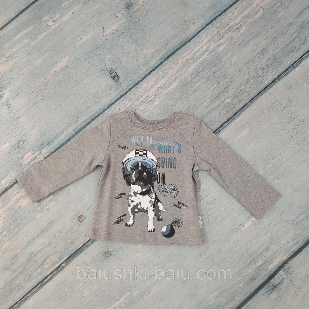 Джемпер для мальчика на 9 месяцев (трикотаж), ТМ Bembi
