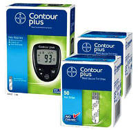 Глюкометр Contour plus Bayer + 100 тест полосок