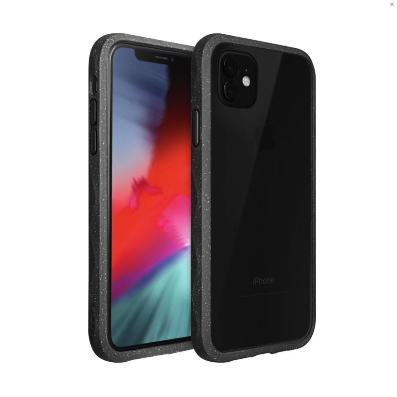 LAUT CRYSTAL MATTER защитный чехол-накладка для iPhone 11 Pro Max (2019), черный