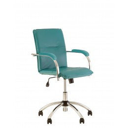 Кресло Самба Samba хром с мягкими накладками