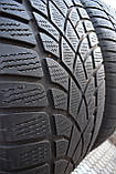 Шини б/у 275/45 R20 Dunlop SP Winter Sport 3D, ЗИМА, пара, фото 6