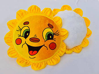"""Подушка-игрушка """"Ты мое солнышко"""" плюшевая для сублимации"""