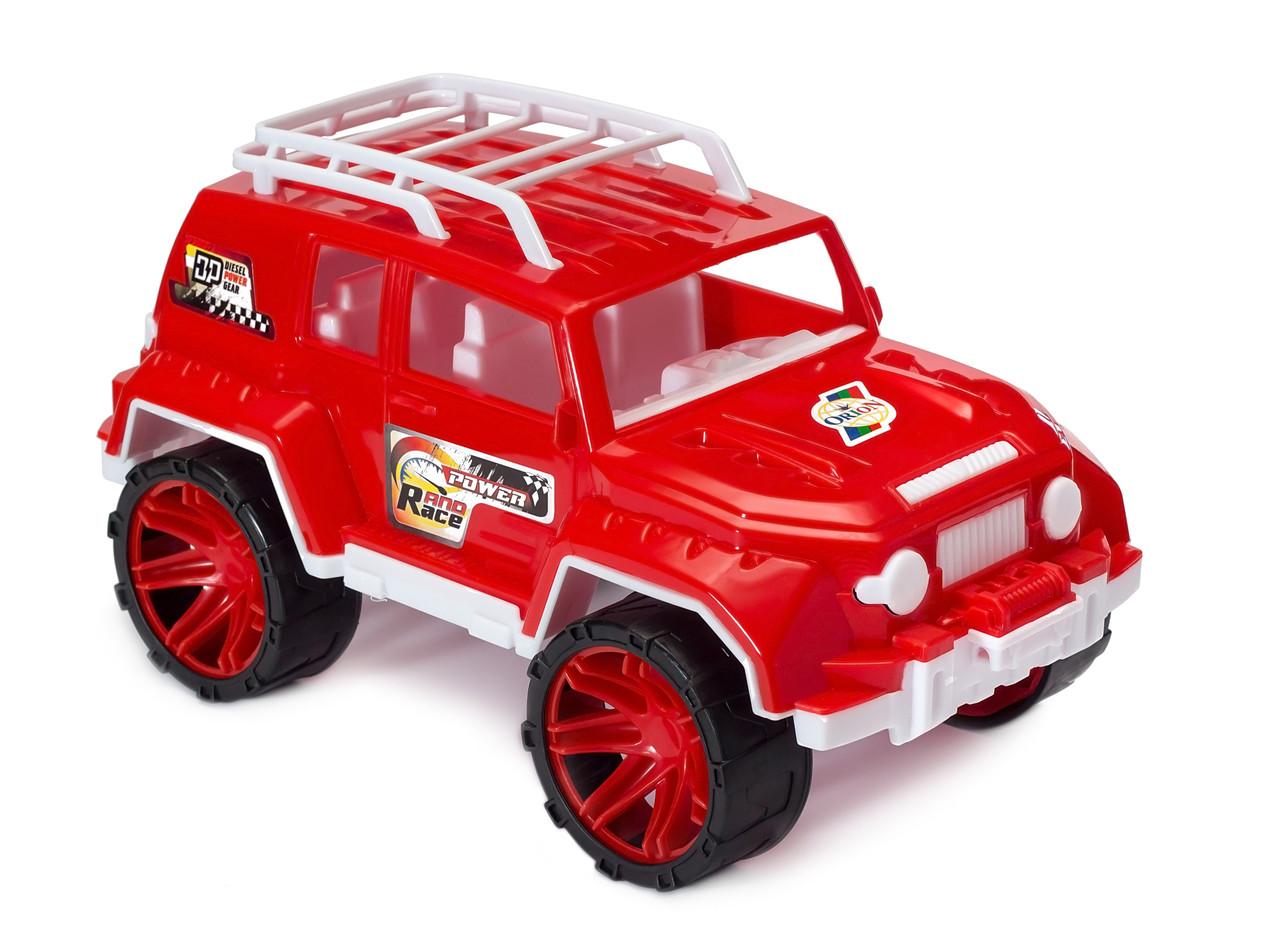 Джип Орион 030 детская игрушечная машинка з высококачественного пластика