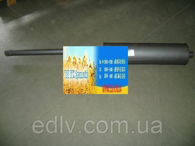 Глушитель-резонатор ГАЗ 3302 закатной совмещенный (пр-во Ижора) 36-1201008-91