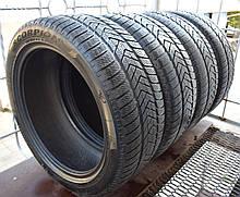 Шины б/у 255/45 R20 Pirelli Scorpion Winter, ЗИМА, комплект