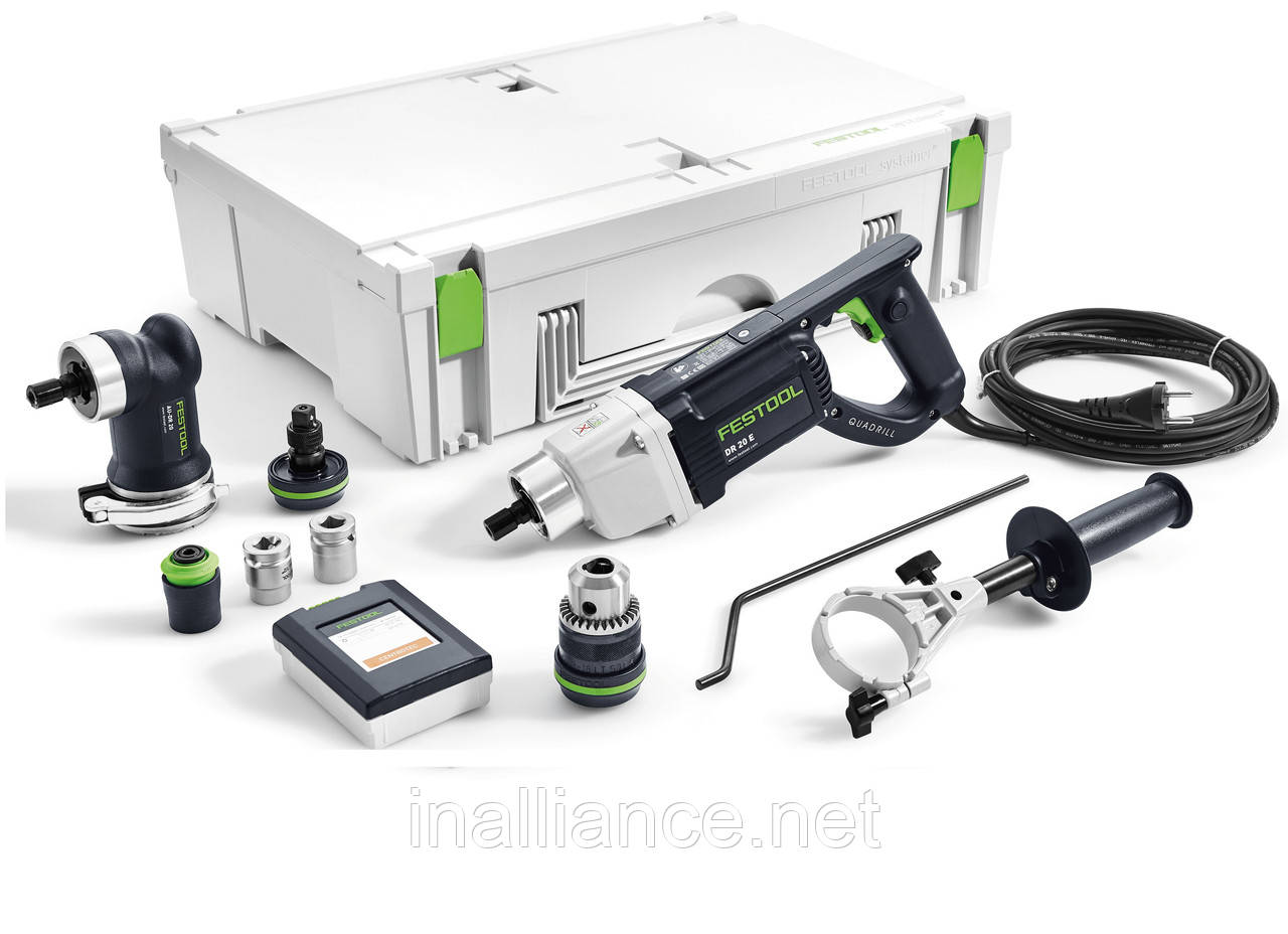 Дрель электрическая QUADRILL DR 20 E FF-SET Festool 768933
