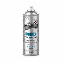 Лак BOOMER для волос экстра стронг 2 в 1 (с двумя распылителями) 400 мл BEARDBURYS