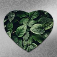 Коврики в форме сердца