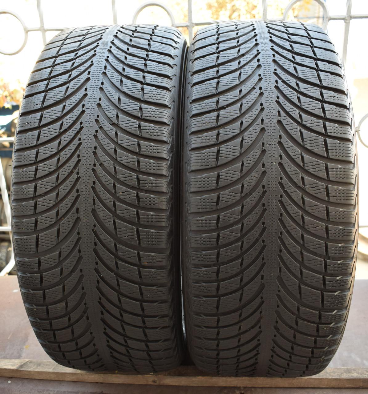 Шины б/у 255/45 R20 Michelin Latitude Alpin LA2, ЗИМА, пара