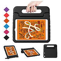 Противоударный силиконовый чехол Anomaly Kids cover Hand holder для Apple iPad Mini 5 2019 / Mini 4 Черный