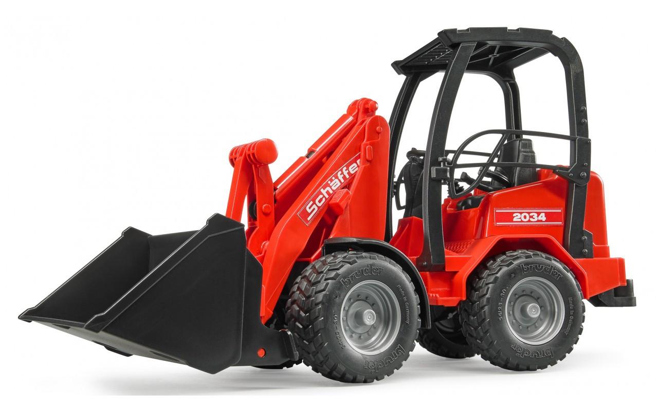 Мини-погрузчик Bruder Schaffer Compact 2034 02190
