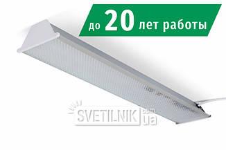 Линейный LED светильник 525x100 / 12W / 4200K / Колотый лед (S-612-i)