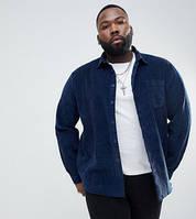 Мужская рубашка из вельвета, стандартный и большой размер есть. Цвет на выбор, фото 1