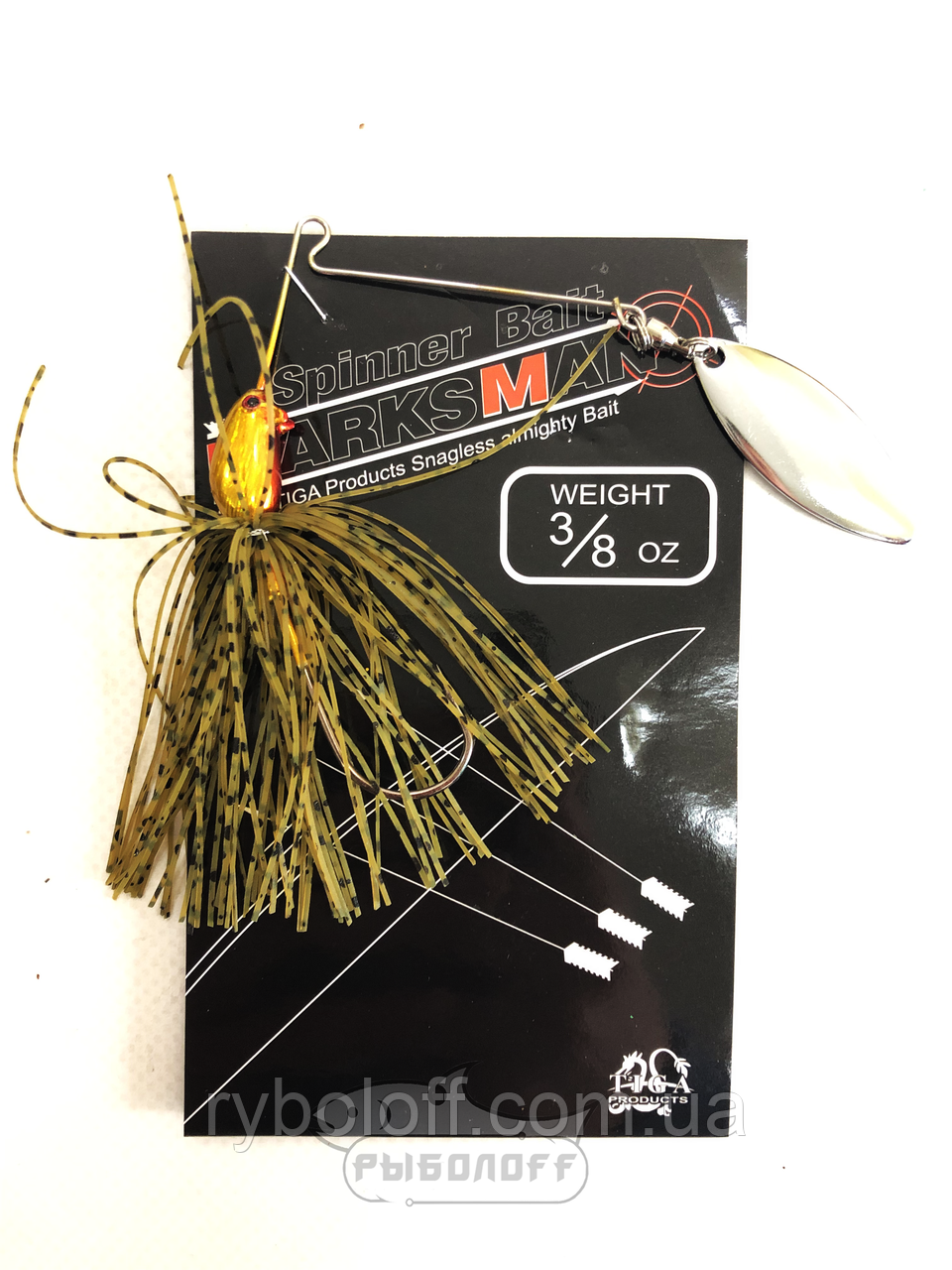 Спиннербейт Spinnerbait Marks Man 3/8 oz (10гр.)