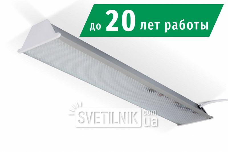 Линейный LED светильник 525x100 / 24W / 4200K / Колотый лед (S-624-i)