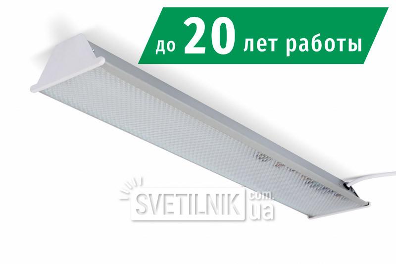 Линейный LED светильник 525x100 / 6W / 4200K / Микропризма (S-606-m)