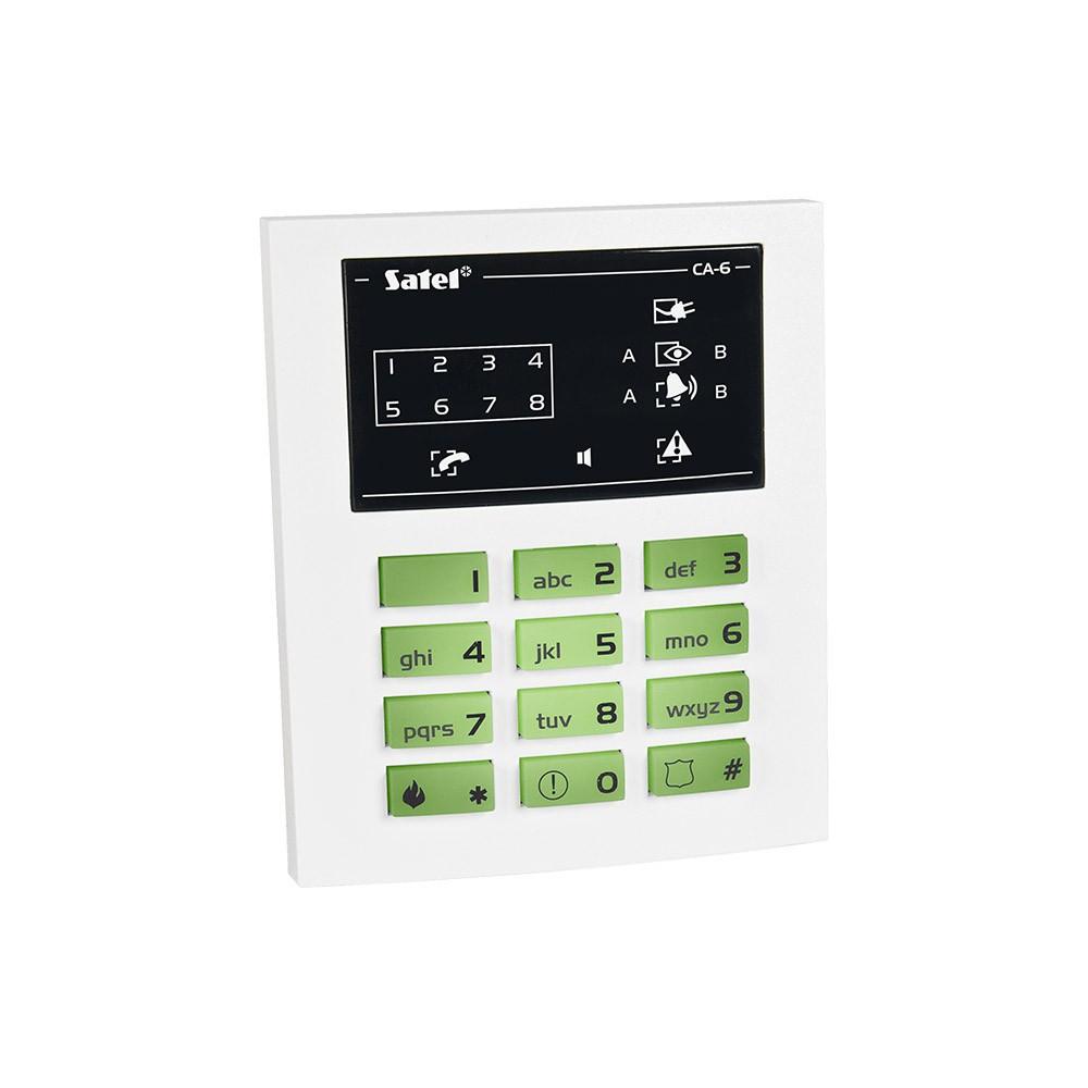 Проводная светодиодная клавиатура Satel СА-6 KLED-S