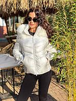 Женская куртка белая, красная, синяя, фото 1