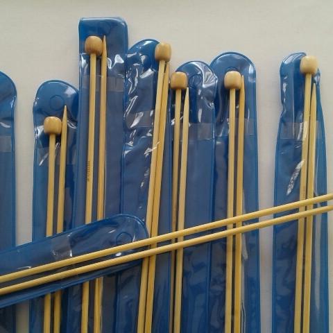 Спицы длинные бамбуковые №3,0