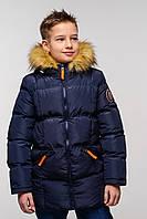 Детская зимняя курточка парка  на мальчика  Том  Nui Very