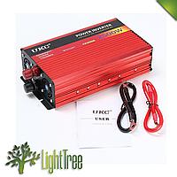 Преобразователь авто инвертор UKC 12V-220V AR 2500W c функции плавного пуска + USB