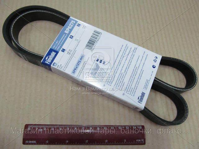 Ремень поликлиновой ГАЗ дв.405 без ГУРа, евро 3 (Пр-во FINWHALE) BP6275