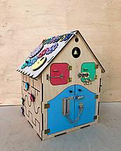 Развивающая игрушка, пазл, БИЗИДОМ 50Х35Х35, фото 3