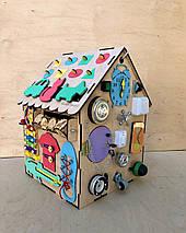 Развивающая игрушка, пазл, БИЗИДОМ 50Х35Х35, фото 2