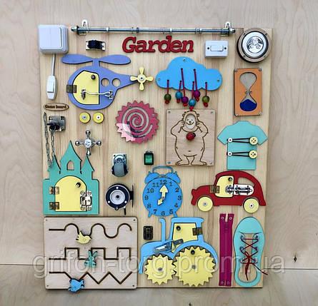 Развивающая игрушка, пазл, БИЗИБОРД 70Х60, фото 2