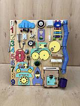 Развивающая игрушка, пазл, БИЗИБОРД 70Х60, фото 3