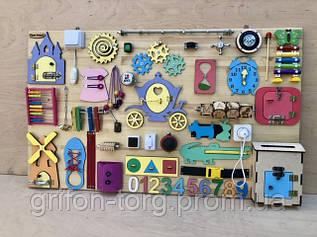 Развивающая игрушка, пазл, БИЗИБОРД 100Х60