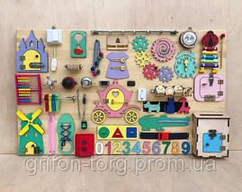 Развивающая игрушка, пазл, БИЗИБОРД 100Х60, фото 3