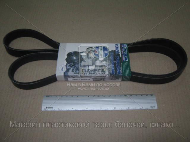 Ремень 6РК-1630 ГАЗ 3302,2705 дв.560 Стандарт, фирм.упак. (покупн. ГАЗ) ХАНСЕ.6РК1630