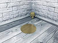 *100 шт* / Подложка для торта 12см, Золото-серебро, 120мм/мин., фото 1