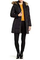 Женский оригинальный черный стеганый пуховик популярного бренда Michael Kors (Размеры  - S,L), фото 1