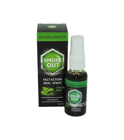 Smoke Out - Спрей для полости рта от курения Смок Аут