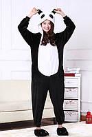 Пижама кигуруми комбинезон теплая качетственная Панда