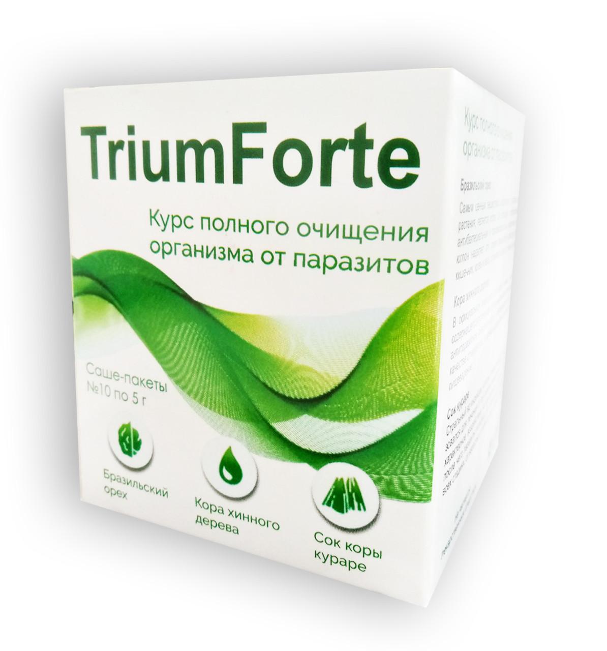 TriumForte - Комплекс от паразитов и глистов ТриумФорте