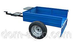Прицеп не откидной 1000Х1250 на колесах автомобиля жигули (ВЗ1)