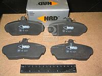 Колодка тормозная ГАЗ 3302 перед. (компл. 4шт.) (NRD) 3302-3501170, фото 1