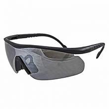 Очки тактические Daisy C2 (4 цвет. линзы, резинка, очки для линз с диоптриями, чехол), жесткий кейс