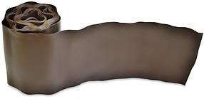 Бордюр газонный Verano волнистый коричневый 100 мм х 9 м (71-843)