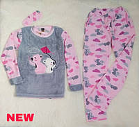 """Женская пижама на флисе ''SNC homewear"""""""