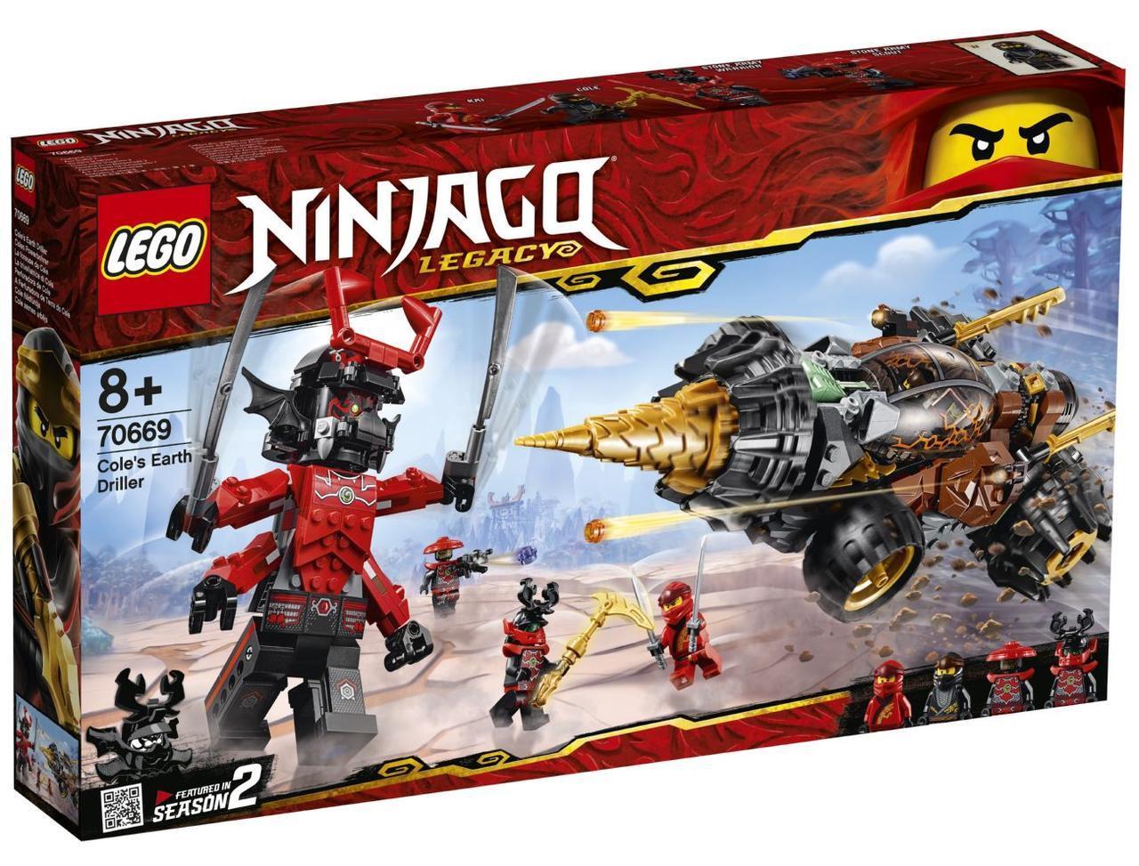 Lego Ninjago Земляной бур Коула 70669Нет в наличии
