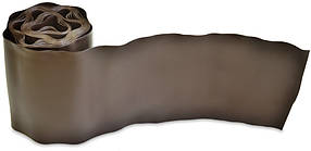 Бордюр газонный Verano волнистый коричневый 100 мм х 9 м (71-844)