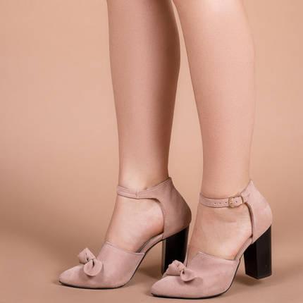 Туфли женские Светлый беж натуральная замш Размеры 36-41, фото 2