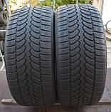 Шины б/у 255/50 R19 Bridgestone Blizzak LM80, ЗИМА, 6-7 мм, пара, фото 2
