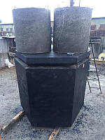 Двухкамерный септик 2500 л. из бетона
